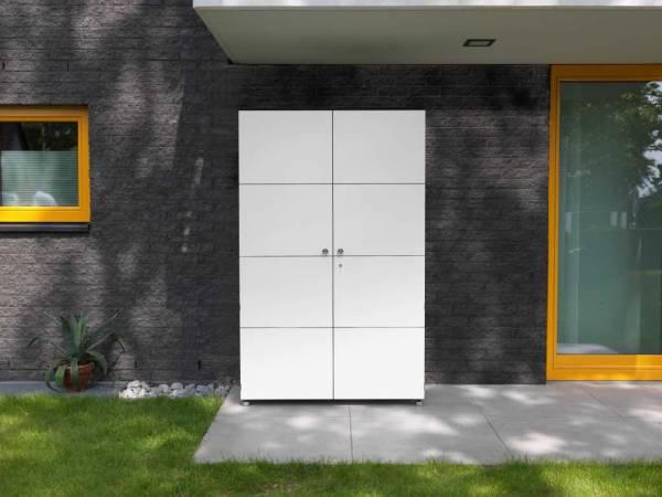Gartenschrank Organizer XL von CITYGARTEN - geschlossen