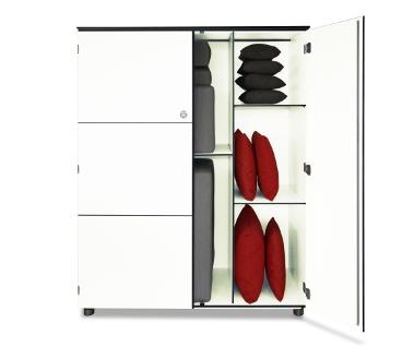 Design Kissenschrank Organizer L